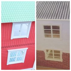 Before and After - side of lundby dollshouse