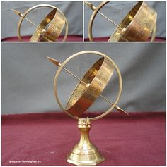 Esfera con grabados de horóscopos .