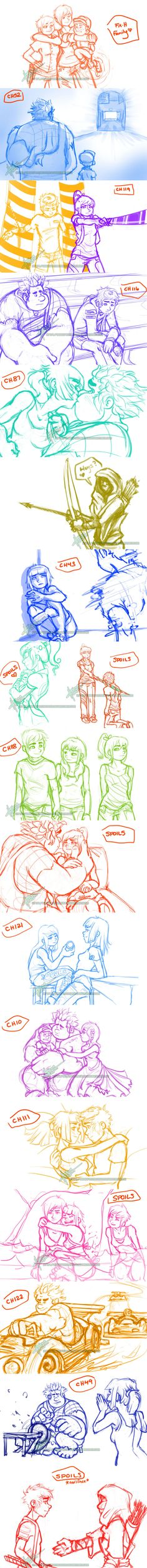 Wrecking Limits Sketchdump 3 by Vyntresser