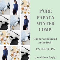 Dont let the cold get you down - WERE DOING A WINTER GIVEAWAY! Weve paired up with a few of our favourite brands to give you the chance to WIN a PURE PAPAYA CARE gift basket filled with awesome prizes and valued close to $500!  TO ENTER: Make sure youre following: @purepapayacare @wellmadeclothes_ @bellabuttercup_ @templebathtea and @toastywarmaustralia And tag 2 friends that you would share the winnings with in the comments below! Australian residents only. Competition closes 11:59pm…