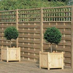 5ft11 (1.8m) High Monte Carlo Fence Panel