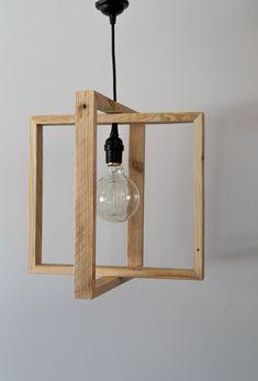 57 Super Ideas For Wood Design Lamp Cuisine Luminaire Design, Lamp Design, Wood Design, Lighting Design, Lighting Ideas, Diy Design, Diy Pendant Light, Pendant Lighting, Wooden Lamp