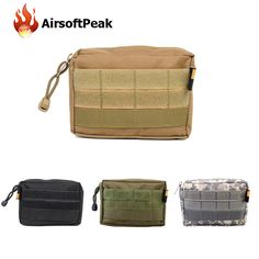 600D Nylon Military Molle Utility EDC Pouches Tactical Vest Accessory Drop Tools Pouch Outdoor Sports Waist Bags Hunting Bags
