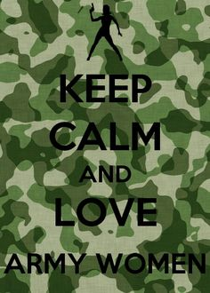 Army women and men Love the military I can't wait to be part of a family that protects our country.