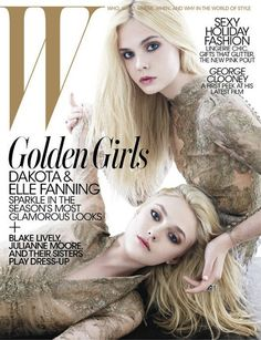 Dakota Elle Fanning For W Magazine December  Magazine Covers Magazine Photos W