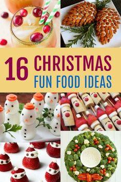 16 fun christmas food ideas