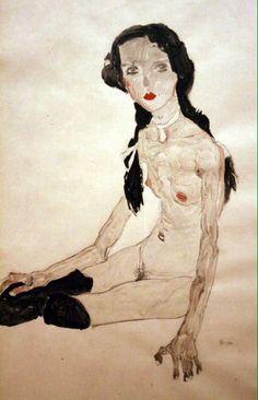 #EgonSchiele #nudeart #ErosinArt Scoprimi i pensieri Quelli che non indossano mai niente e sono nudi. B. Niccolai