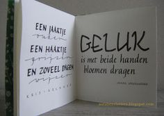 Nota Bene: Kalligrafie: citatenboekje; Calligraphy: Booklet with Quotes