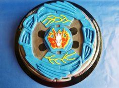 Beyblade cake.