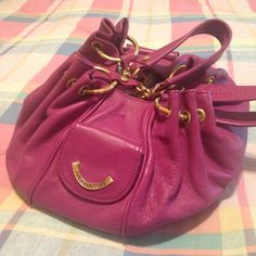 Juicy Couture Leather Baby Fluffy Purse
