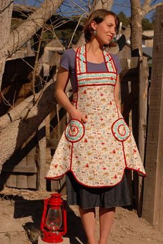 The Lola Apron 1 by sew liberated, via Flickr