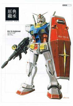 Gundam, Kunio Okawara. ガンダム