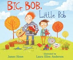 Despite the fact that they share a name, Big Bob and Little Bob are different. Big Bob likes trucks and throwing balls and being loud. Little Bob likes dolls and jingling bracelets and being quiet. Could they possibly be friends despite these differences? With humor and tenderness, James Howe and Laura Ellen Anderson beautifully depict the struggles and rewards that come when friendships are forged between different kinds of people. 9780763644369 / 4-6 yrs