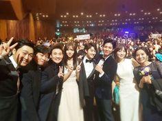 박보검 161231 연기대상, 구르미팀 [ 출처 https://www.instagram.com/p/BOxlPW3Db7B/ ]