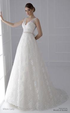White Lady 2015 Wedding Dress