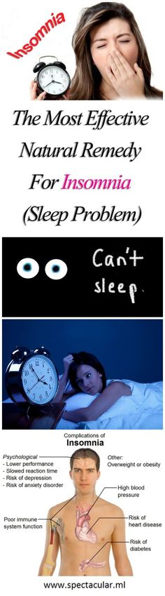 The Most Effective Natural Remedy For Insomnia (Sleep Problem)