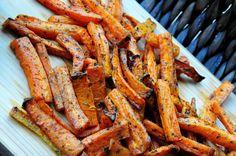 Frytki marchewkowe Frytki z marchewki Szczesliva7