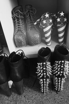 american spirt, studded fun... shoes shoes shoes