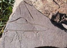 Yeah no big deal or anything, but archaeologists found a stone carving in El Fuerte de Samaipata central Bolivia and it's a drawing of a UFO...