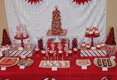 @Kay Richards Langley recital theme? peppermint christmas dessert table #christmas #peppermint