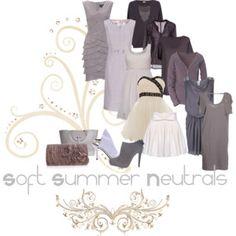Soft Summer Neutrals