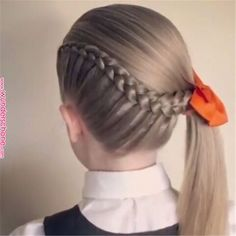 Girl classic fashion hairstyle idea – Page 50 of 145 – Inspiration Diary – corte… Girl classic fashion hairstyle idea – Page 50 of 145 – Inspiration Diary – cortes de cabello – Baby Girl Hairstyles, Summer Hairstyles, Cool Hairstyles, Girls Braided Hairstyles, Hairstyle Ideas, Toddler Hairstyles, Girl Hair Dos, Girl Hair Braids, Braids For Girls