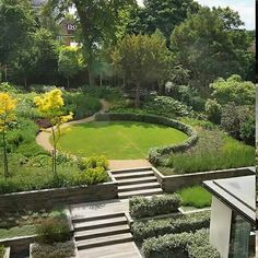 Garden shape if i had a bigger plot