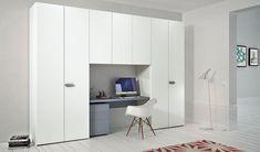 New bedroom desk wardrobe dressing rooms 20 ideas Built In Cupboards, Built In Desk, Built Ins, Built In Furniture, Furniture Layout, Furniture Design, Bedroom Wardrobe, Built In Wardrobe, Bedroom Desk