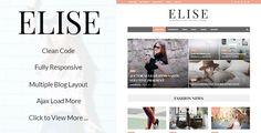 Elise - Wonderful WordPress Blog and Magazine  -  https://themekeeper.com/item/wordpress/blog-magazine/elise-wonderful-wordpress-blog-and-magazine