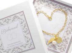 Brautschmuck - Hochzeit Armband Trauzeugin Bridesmaid Braut - ein Designerstück…