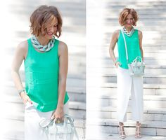 3.1 phillip lim mini mint pashli and diana broussard necklace