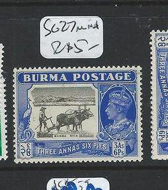 BURMA (PP2807B) KGVI 3A 6P COW SG 27 MNH - bidStart (item 64624086 in Stamps, British Commonwealth)