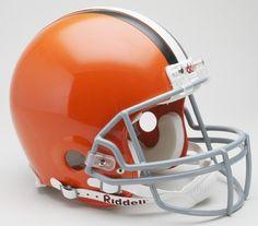 Cleveland Browns 2006-14 Throwback Pro Line Helmet
