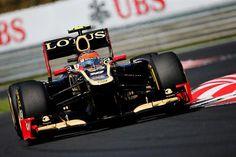 Hungarian Grand Prix - Romain Grosjean's Lotus Formula 1™ - The Official F1™ Website