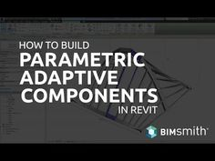 Pete from BIMsmith teaches how to work with adaptive components in Revit. He'll walk through how to build an adaptive Revit family in Revit using points, add. Revit Family, Talking To You, Science And Technology, Surface, How To Apply, Tutorials, Teaching, How To Plan, Building