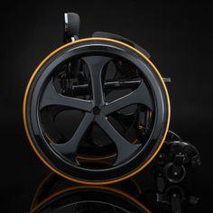 Carbon Black Wheelchair-6