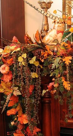 fall mantle...