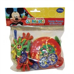 Fun Party Supplies - Children's Party Goods Mickey Mouse Party bag favours, party supplies, decorations, balloons and gifts, free delivery Children's party goods for boys and girls birthdays in Essex UK Mickey Mouse Games, Mickey Mouse Party Supplies, Mickey Mouse Party Favors, Disney Mickey Mouse Clubhouse, Mickey Mouse Birthday, Frog Birthday Party, Bee Party, 2nd Birthday, Birthday Ideas