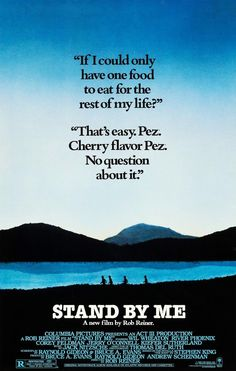 Directed by Rob Reiner. With Wil Wheaton, River Phoenix, Corey Feldman, Jerry O'Connell. Gordie Lachance, Jerry O'connell, Corey Feldman, Wil Wheaton, River Phoenix, Opening Weekend, 90s Movies, Internet Movies, Stranger Things Season