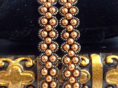 Bracelet French Double Wrap with Copper by LivingOutLoudJewelry, $49.95