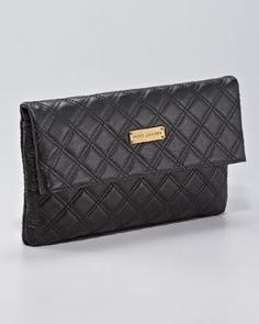 lovely marc jacobs quilted clutch