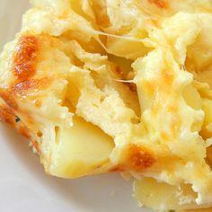 Easy Cheesy Baked Potatoes