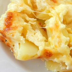 Easy Cheesy Baked Potatoes Recipe from Grandmother's Kitchen