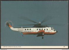 Cornovia_Postcards sells an item for until Sunday, 23 June 2019 at BST in the Helicopters category on Delcampe Igor Sikorsky, Postcards For Sale, British Airways, Helicopters, 1970s, Nostalgia, Aircraft, Universe, Aviation