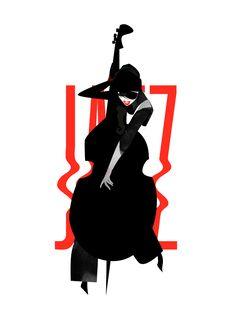 Musical Duets, Italian Futurism, Jazz Poster, Jazz Art, Pop Art Girl, Architecture Collage, Jazz Festival, Retro Illustration, Jazz Blues