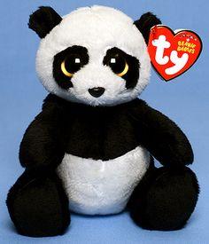 5a5e15d86c2 Ming (2012 redesign) - Panda bear - Ty Beanie Babies Baby Panda Bears