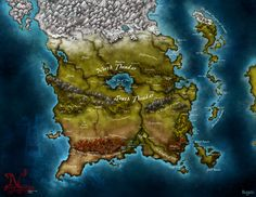 Map for Dnd campaign by ~Stormcrow135 on deviantART