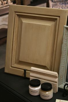 Chalk Paint Your Cabinets - Country Grey with Clear and Dark Wax