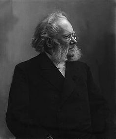 Henrik Ibsen, 1828-1906, Norway.  Key works:  The Pretenders (1863); Brand (1866); Peer Gynt (1867); The League of Youth (1869); Pillars of Society (1877); A Doll's House (1879); Ghosts (1881); An Enemy of the People (1882); The Wild Duck (1884); Rosmersholm (1886); The Lady from the Sea (1888); Hedda Gabler (1890); The Master Builder (1892); Little Eyolf (1894); John Gabriel Borkman (1896); When We Dead Awaken (1899).