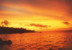 Pôr-do-sol Ilha Bela